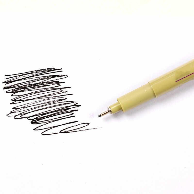 Набор маркеров ручка мягкая кисть для рисования водостойкая ручка 01 02 03 04 кисть художественные маркеры