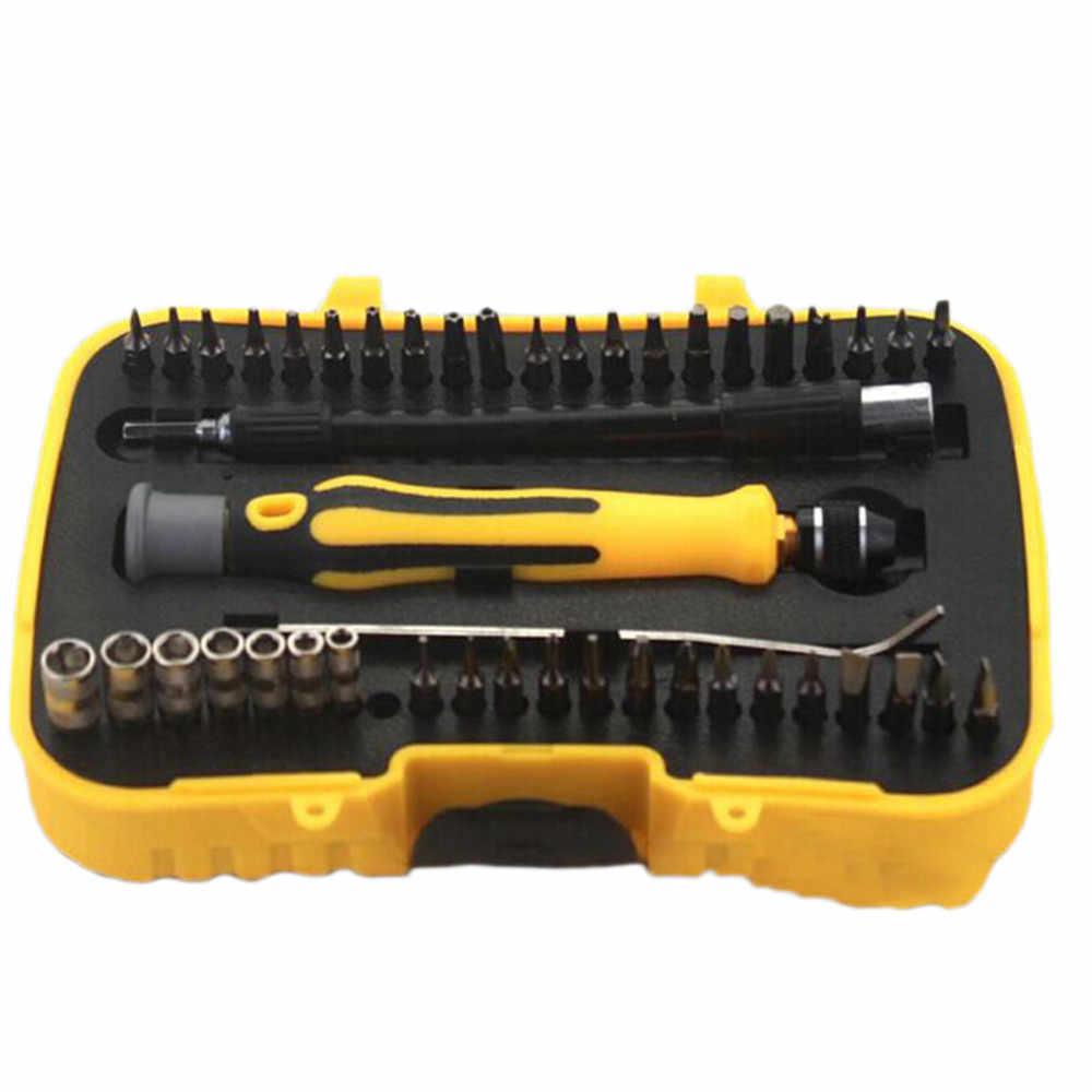 45 в 1 Набор инструментов для ремонта вращающийся магнитный прецизионный маленький Набор отверток ноутбук сотовый телефон Ремонт Отвертка