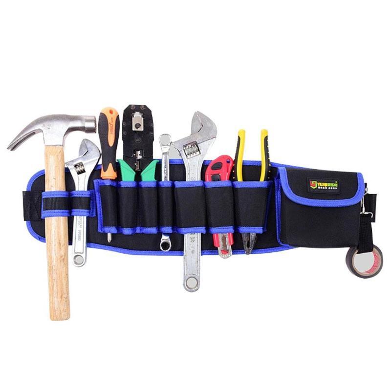 Отличная сумка для инструментов из ткани Оксфорд и EVA, молотки, клещи, отвертка, держатель для ручного ремонта, сумка для хранения, открытая