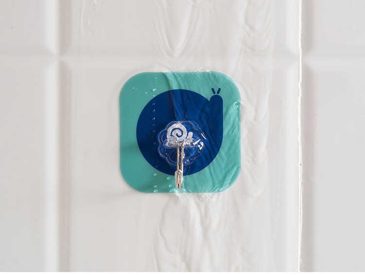 Kartun Non Menandai Perekat Hook Kamar Mandi Dapur Multi Fungsi Dinding Kait Handuk Sissors Alat Gantungan Tahan Air