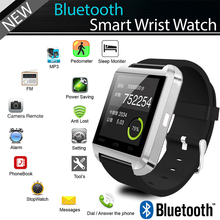SmartWatch U8 Bluetooth Smart Watch Wristwatch Smartwatch With Sleep Monitor Remote Camera Pedometer For Andriod IOS Smartphone стоимость
