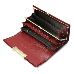 Image 3 - Womens Wallets  Brand Design High Quality Leather Wallet Luxury Stone Pattern Female Clutch Long Coin Card Holder Purses