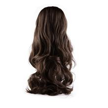 Easy to Wash & Care Adjustable Size Beauty Fashion Womens Lady Long Curly Wavy Hair Full Wigs for Cosplay Party or Daily Life(China)