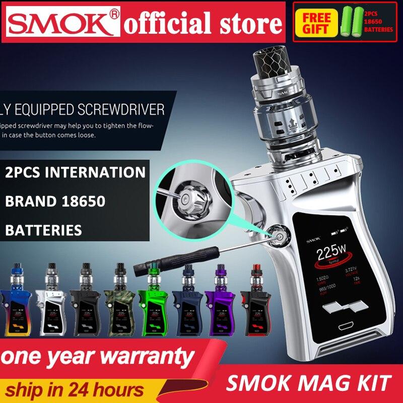 In Stock!! SMOK MAG Kit With 225W BOX MOD & TFV12 Prince 8ml Tank Electronic Cigarette Vape SMOK Mag Kit VS SMOK G-PRIV 2 Kit
