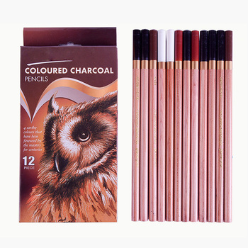 Sketch Colored Charcoal Professional Wood Drawing Sketch Pencil Colored Pencils Charcoal Pen for Drawing Sketch Art Supplies фото