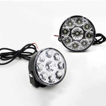 цена на 2Pcs Car Daytime Running Light Assembly White 12V Auto DRL Fog Lamp Driving Day Light Replace Car Styling Headlight