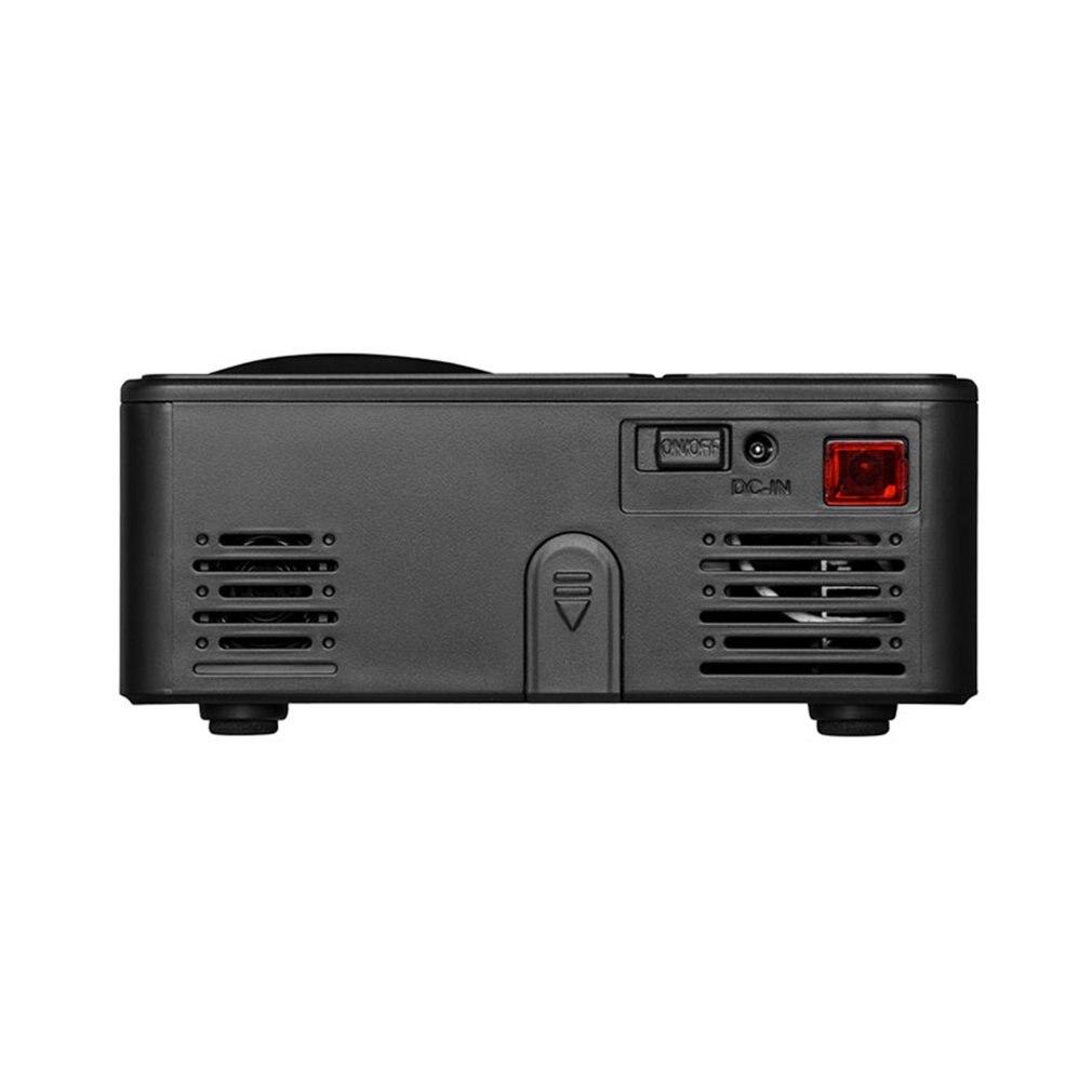 814 mini mini projetor de entretenimento em casa portátil suporta 1080p 4k hd conexão do telefone móvel projetor-5