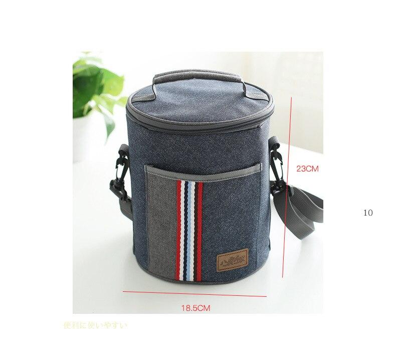 Novo saco térmico pequeno saco de mão