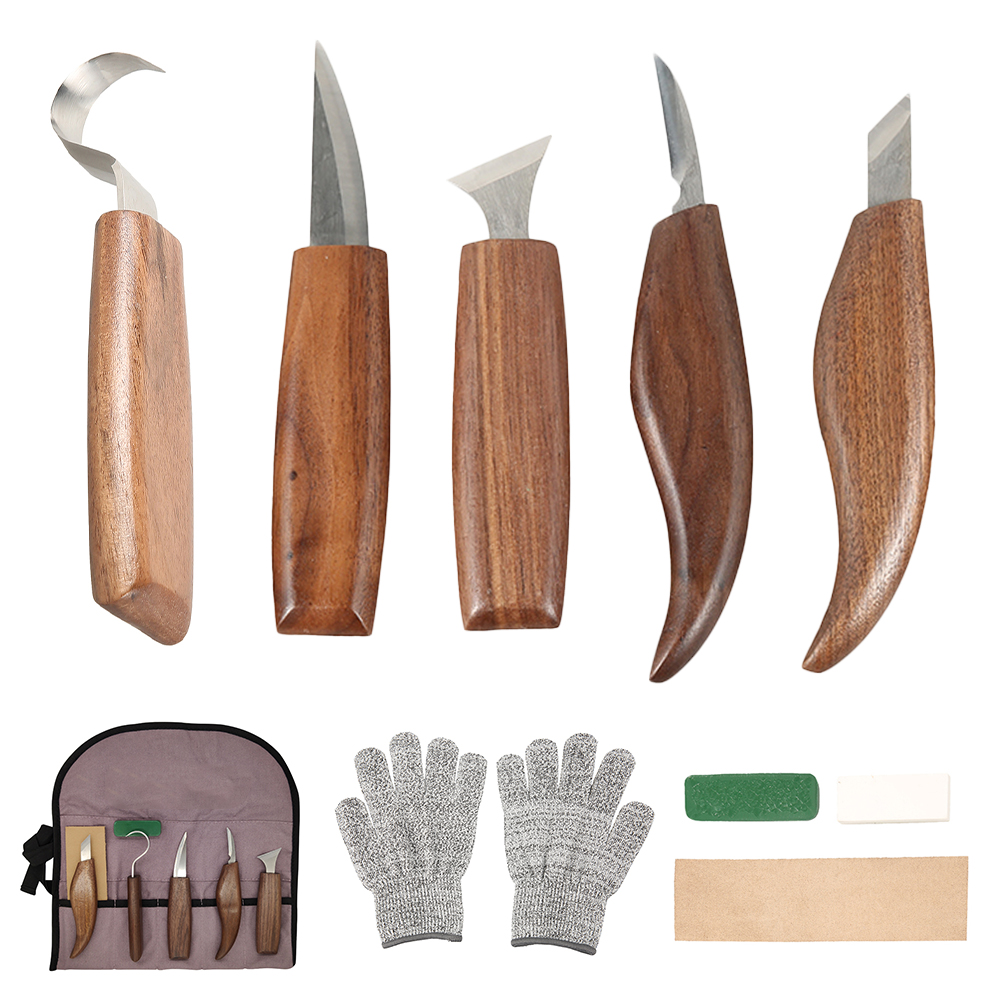 Tools 1 Wood Tools Worker Knife  Woodcut Woodcarving Carving Set Woodworking DIY Knives Hand Cutter  Carving Hand
