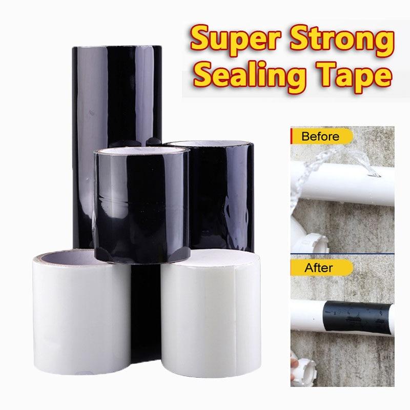 Сверхпрочная клейкая фиксирующая лента, водонепроницаемая шотландская герметичная ремонтная уплотнительная лента, эффективная фиксирующ...