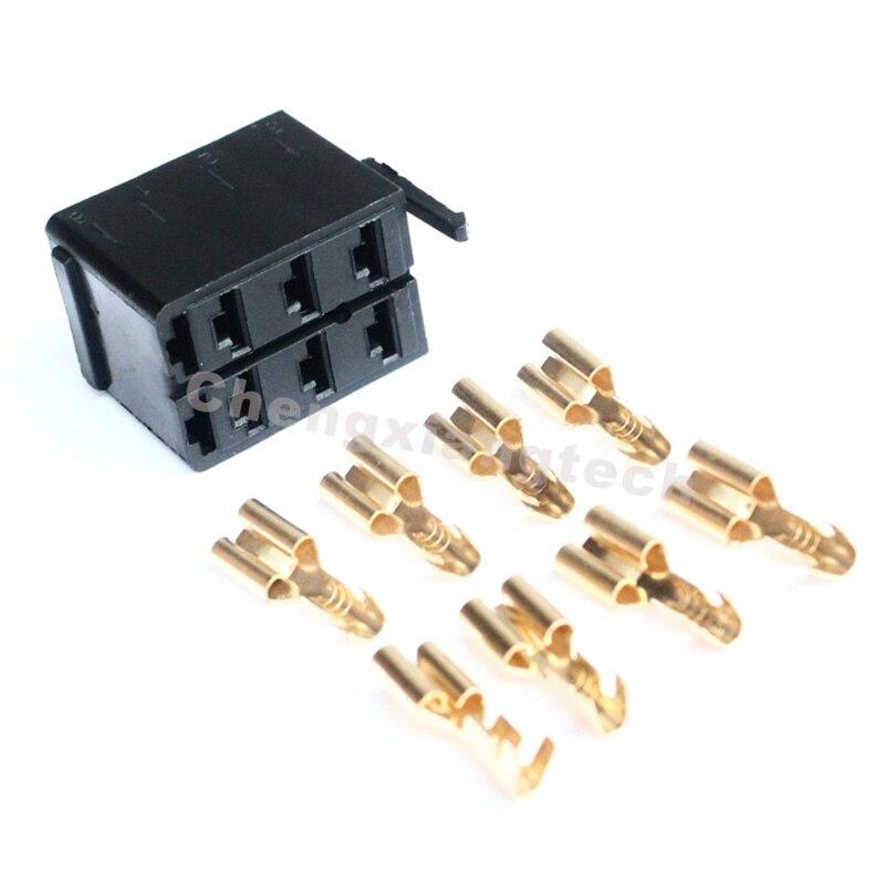 10 pçs/lote, cabo de fiação terminais conector plug para arb carling narva tipo carro barco interruptor balancim