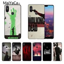 Sterven Walking Dead Daryl Custom Photo Soft Telefoon Case Voor Xiaomi Max2 Max3 MI6 MI8 Redmi Note5 Note4 Redmi5 Redmi5plus(China)