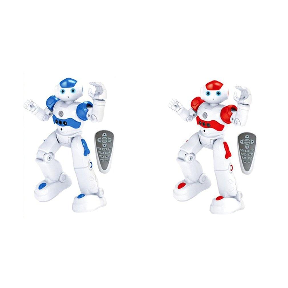 Интеллектуальный робот-головоломка с дистанционным управлением для раннего обучения, детская игрушка для мальчиков, индукционный жест с USB-зарядкой 2