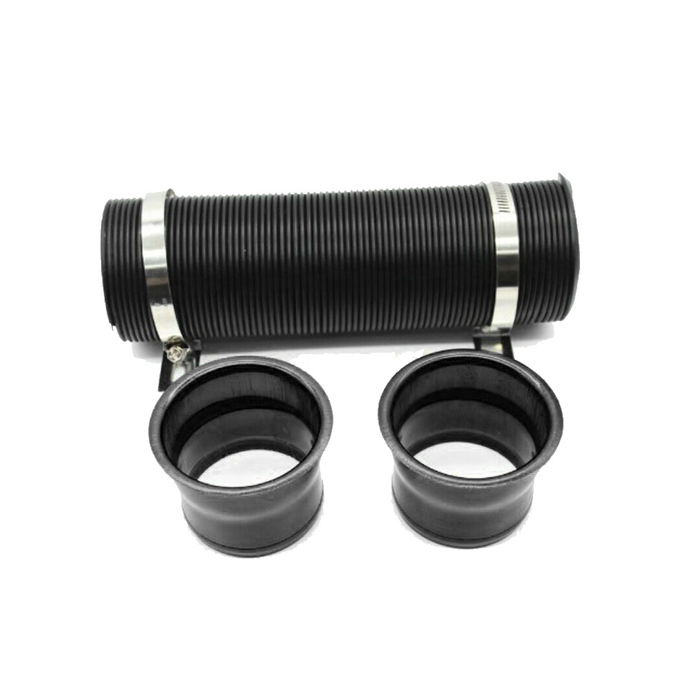 3 Inch Black Adjustable Multi-Flexible Car SUV Turbo Cold Air Intake System Hose Pipe