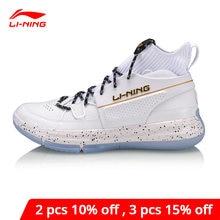 Li-ning men 937 renascimento basquete cultura sapatos almofada forro bounse + esporte sapatos estilo de vida tênis agbq027