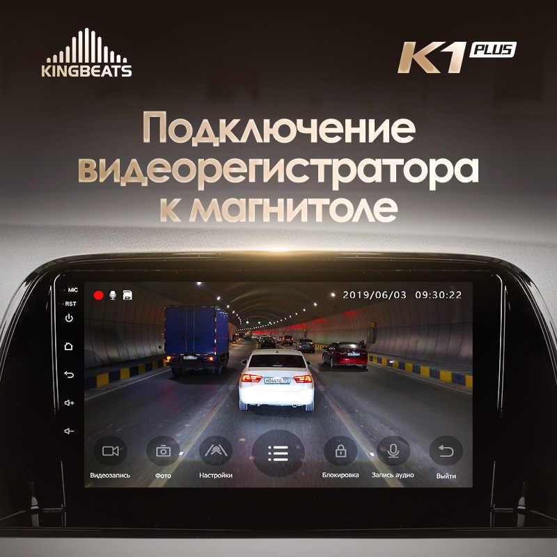 Kingbeats 8.1 Head Unit 4G Mobil Radio Pemutar Video Multimedia Gps Navigasi untuk Mazda CX5 CX-5 CX 5 1 Ke 2012 2017