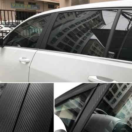 10cm x 127cm 3D Vinyl Car Enrole Rolo De Filme Folha De Fibra De Carbono adesivos de Carro e Decalques Do Carro Motocicleta styling Acessórios Para Automóveis