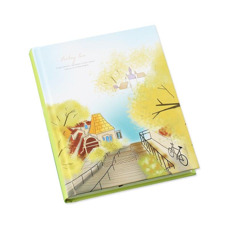 Image 5 - Caderno colorido coreano kawaii, estudantes escrevendo bloco de  notas, planejador de desenho scrapbooking livro grossoCadernos   -