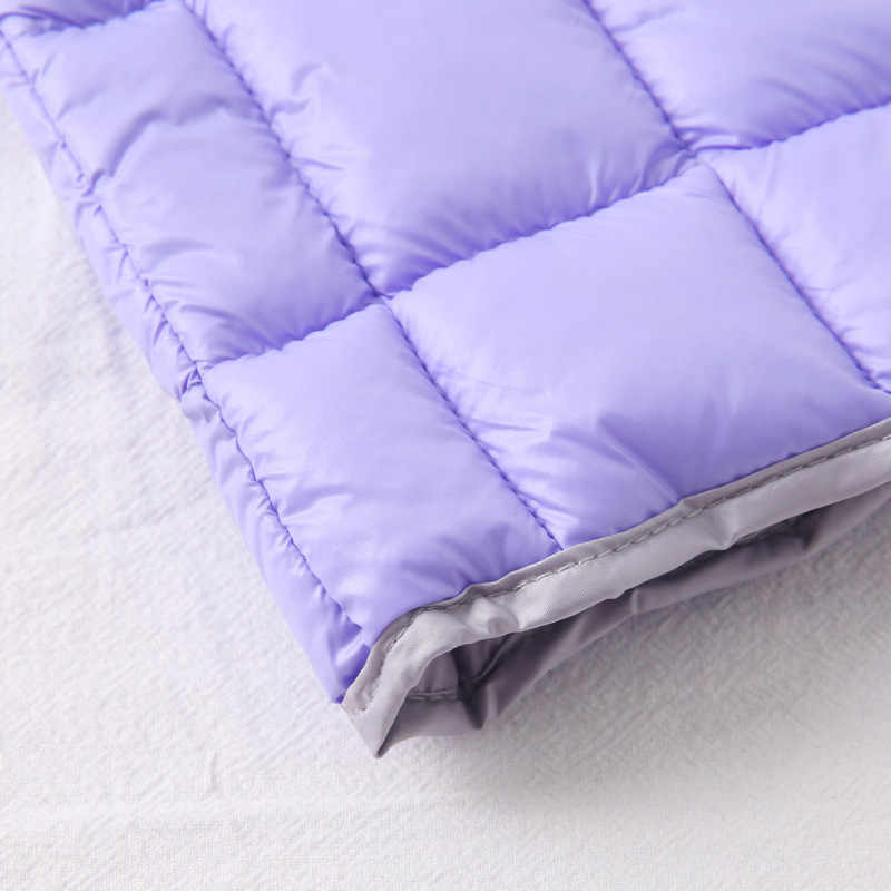 Chaleco de bebé para niño de algodón Ultra-luz chaqueta sin mangas Otoño Invierno chalecos abrigos ropa de niña niños chaleco