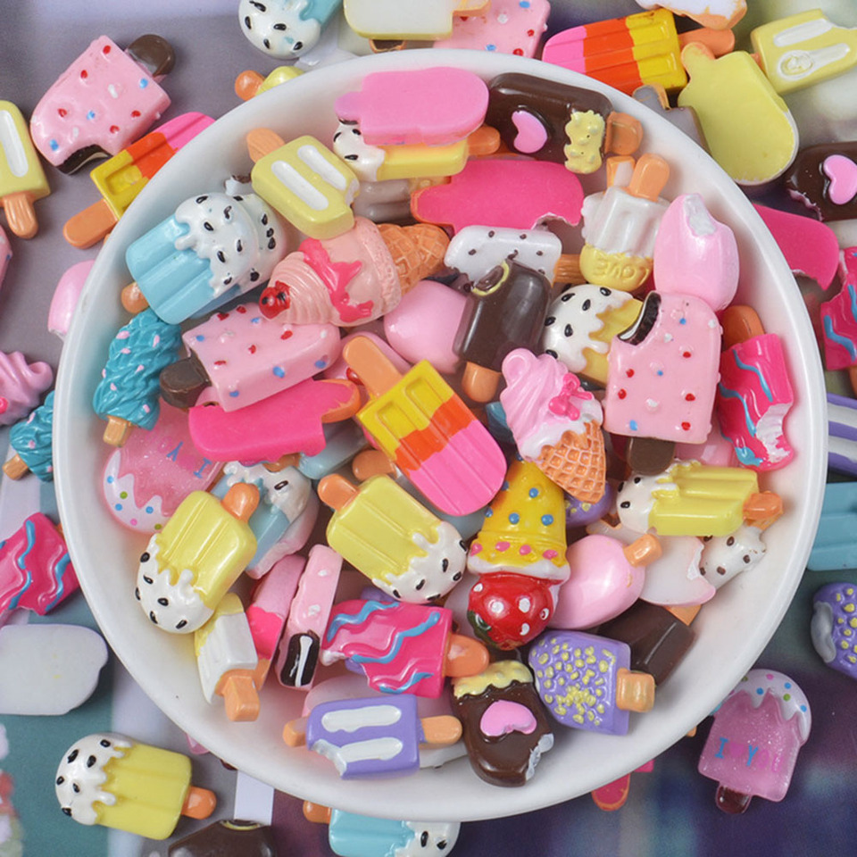 Dollhouse Mini Food Decor Fruit Ice cream cup Simulation Kid Toy JUDIUS