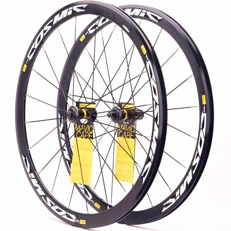 Original ultraleicht rennrad V Bremsscheibe bremse Räder S700c Cosmic Elite 40mm Aluminium Legierung BMX Fahrrad laufradsatz Felgen