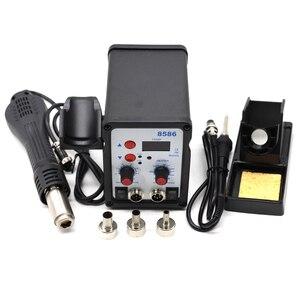 Image 2 - Yarboly 8586 SMD BGA Rework Solder Station Hot Air Blower Heat Gun Hair Dryer Soldering Hairdryer Desoldering Tool
