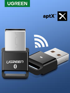 Ugreen Dongle Transmitter Computer-Speaker Audio-Receiver Mouse Bluetooth Aptx Adapter-4.0