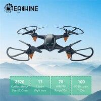 Eachine E38 WiFi FPV RC Drone 720P cámara de flujo óptico Cámara Dual de HD de Video aérea RC Quadcopter avión Juguetes