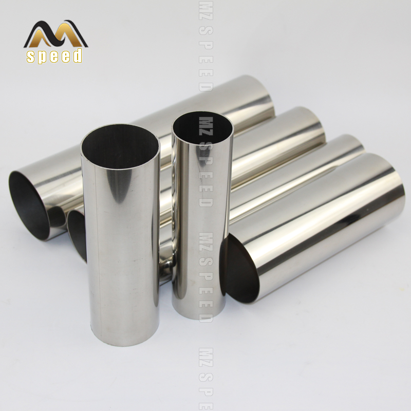 Free shipping Car styling 38mm 51mm 63mm 76mm Exhaust pipe muffler tail pipe 304 stainless steel welding material