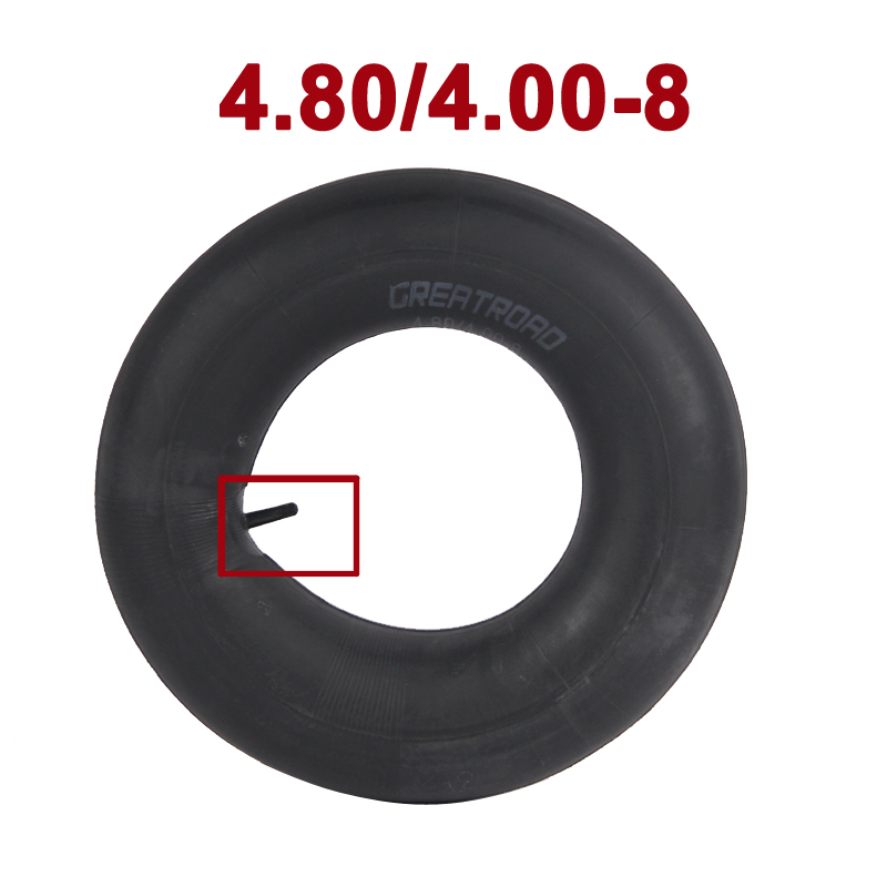 4.80/4.00-8 Replacement Inner Tube For Garden Carts, Lawn Mowers,Wheelbarrows Snow Blowers, Wagons, Carts, Hand Trucks And More