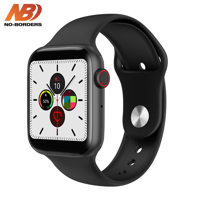 NO-BORDERS IWO 8 Lite W34 Bluetooth Call Smart Watch ECG Heart Rate Monitor Smartwatch Men Women For Android Apple PK IWO 8 12