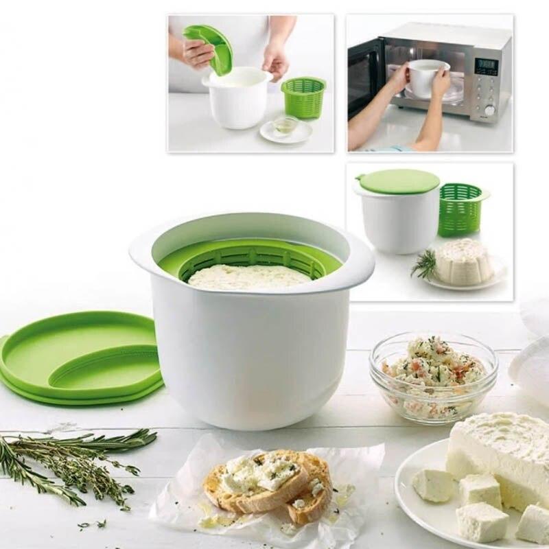 Формочка «сделай сам» для приготовления сыра, легкая в использовании форма для завтрака, сыра, десерта, сыра, формочка для сыра, многоразовы...
