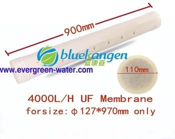 4000L/h 0.01micron Di: 110*900 millimetri di fibra cava UF memebrane di ricambio/cartuccia con il PVC di grado alimentare fit per φ127mm QY-GS4000LB Living Water Solution Appliance Store