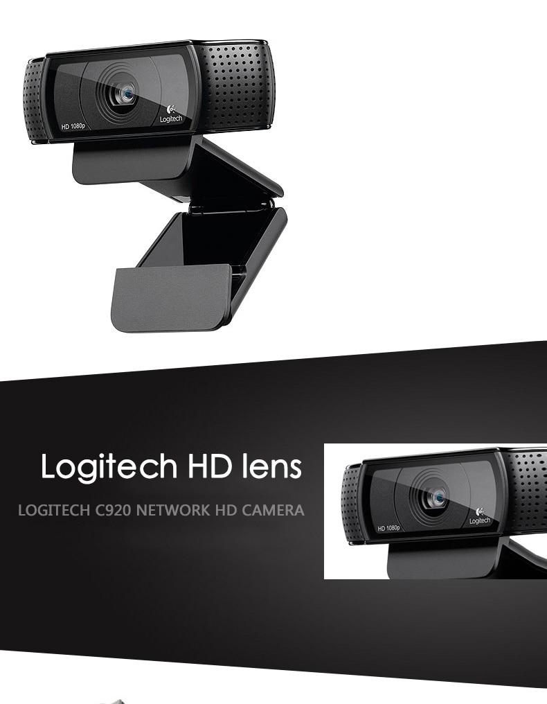 Logitech C920 Pro Web Camera Full Hd 1080p Webcam Support Official