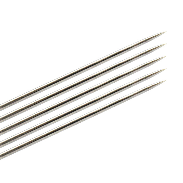 5Pcs Stainless Steel Cleaning Needle 0.15mm 0.2mm 0.25mm 0.3mm 0.35mm 0.4mm Part Drill For V6 Nozzle 3D Printers Parts 5