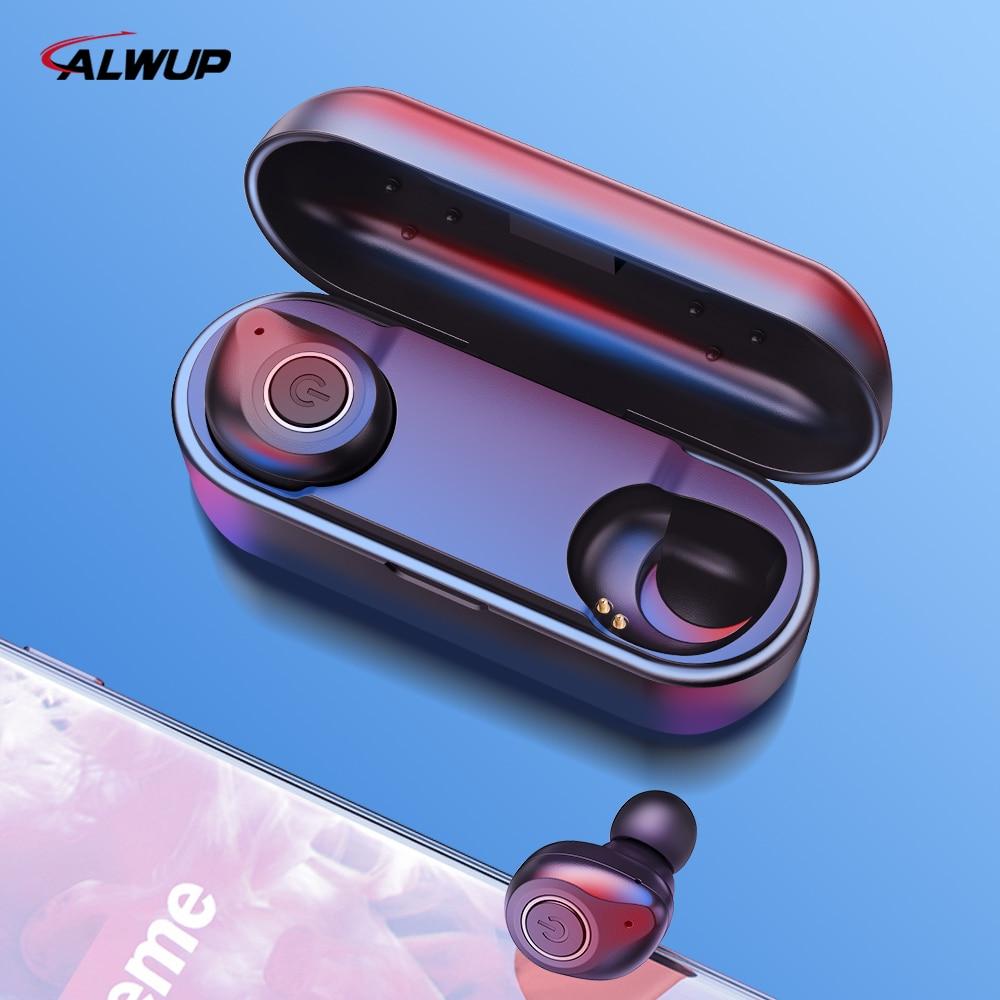 TWS Verdadeira Stereo Handsfree sem fio Bluetooth 5.0 fone de Ouvido Bluetooth Fones de Ouvido Sem Fio HIFI 3D Esporte Fones de Ouvido para Celular Com Microfone
