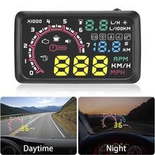 5.5inch Car HUD Head-up Display OBD2 Overspeed Warning System Projector Windshield Auto Electronic Voltage Alarm
