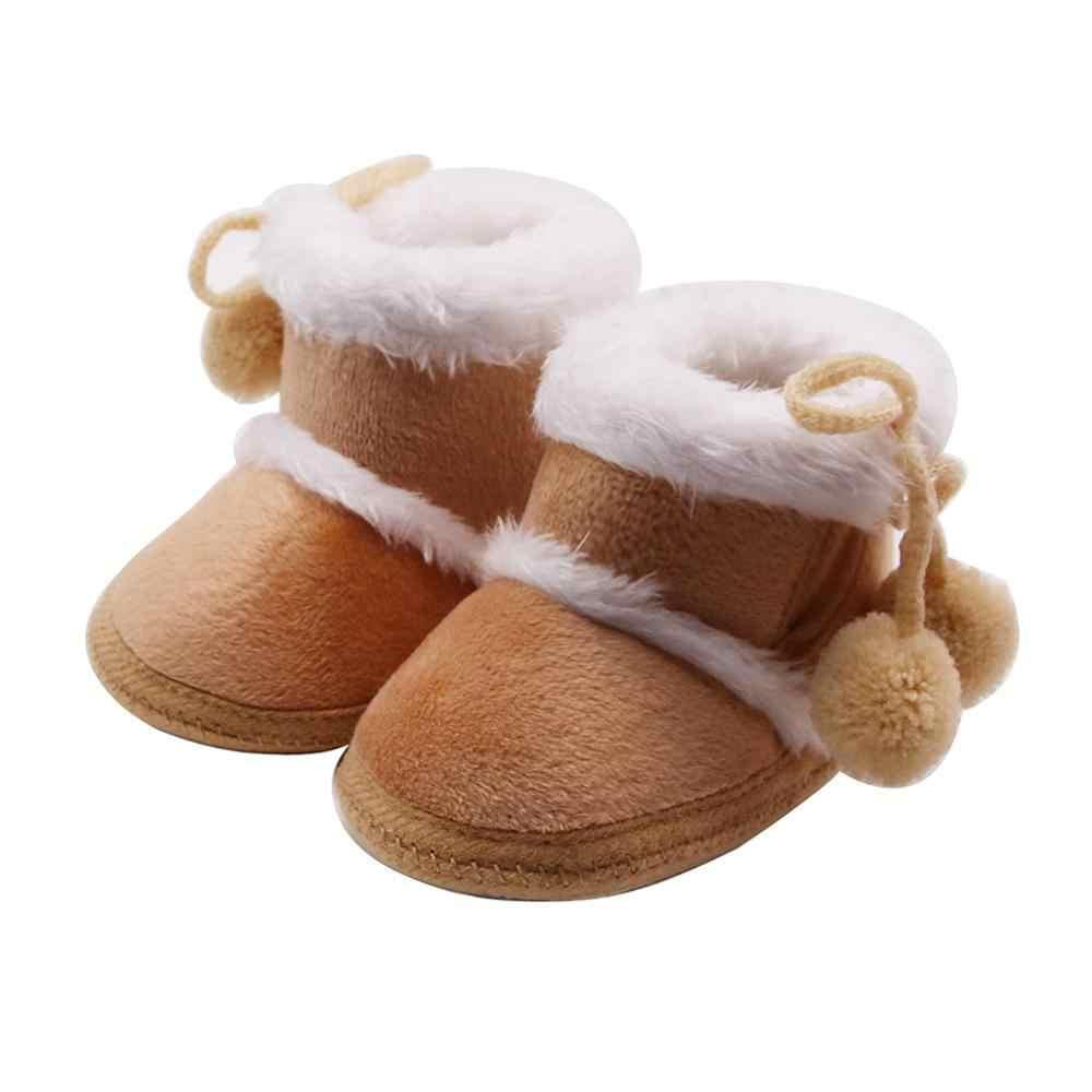 נעלי שלג חדש חורף קטיפה עבה אתחול חם ילד תינוק בנות קשמיר תחבושת חם נעלי ילדי מגפי bottes enfants # 15F