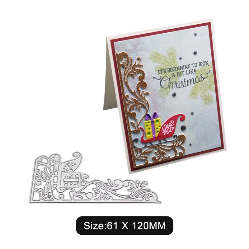 Metal Cutting Dies Stencils Crafts Scrapbooking Album Paper Card Gift Christmas