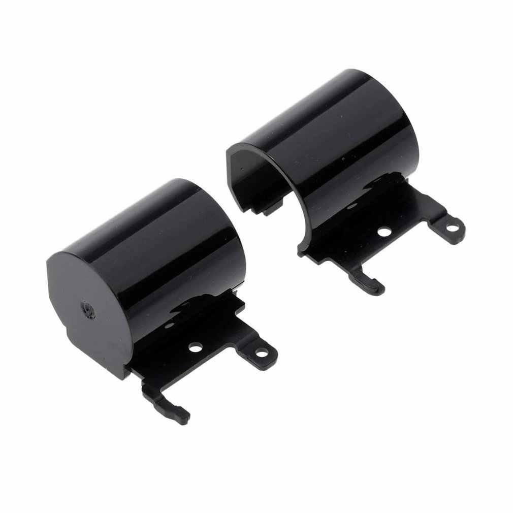 Portátil lcd dobradiça capa para hp 250 255 g6 15-bs 15-bw 15-br lcd volta capa dobradiças 2 pçs dobradiça capa preta tira