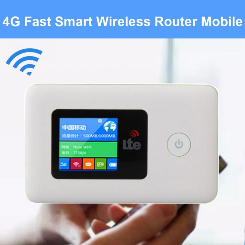 4G LTE Pocket Wifi Router Portable Car Mobile Wifi Hotspot Wireless Broadband Unlocked Modem 4g Extender Repeater