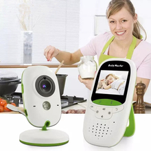 Wireless Video Baby Monitor 2.0 Inch Nanny Camera 2 Way Talk Night Vision IR LED Temperature Infant Sleep Cam VB602