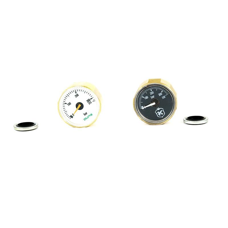 Airforce Manometer 28MM ED Gauge 315Bar High Pressure 1/8BSP M10*1 Thread