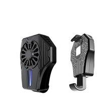 Мобильный телефон кулер вентилятор держатель охлаждающая подставка ультра-тихий вентилятор геймпад игровой бесшумный контроллер радиатора с usb зарядкой