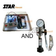 Starดีเซลอัตโนมัติหัวฉีดดีเซลเครื่องทดสอบS0938 พอร์ตการใช้Piezoหัวฉีดเครื่องทดสอบอุปกรณ์S0938 220V & 110V