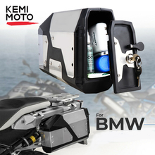 Big sale! Tool Box For BMW r1250gs r1200gs lc & adv Adventure all years 2012 for BMW r 1200 gs Left Side Bracket Aluminum box