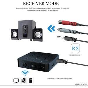 Image 4 - Receptor y transmisor de Audio con Bluetooth 5,0, AUX, RCA, 3,5 MM, conector USB, adaptador de música estéreo inalámbrico, Dongle para TV, PC y altavoz de coche
