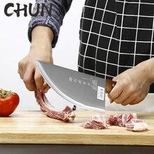 CHUN Utility Küche Messer Stianless Stahl Hacken Messer Chef Slicing Hackmesser Metzger Fleisch Messer Handgemachte Geschmiedete Messer Werkzeuge