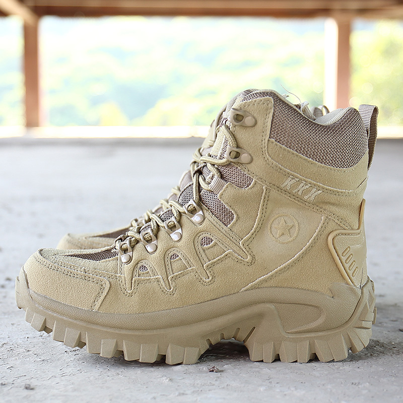 2019 Winter Military Tactical Army Boots Men Shoes Waterproof Leather For Man Shose Outdoor Combat Boot Male Ankle Booties Shoe