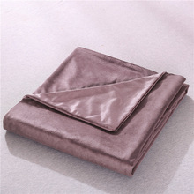 Weighted Blanket Cover Soft Modern Quilt Cover Solid Single Size Duvet Cover for Adult Children Kids
